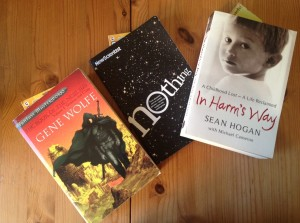 Books photo for blog post - polygamous reading